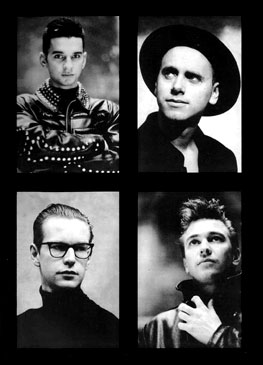 Depeche Mode 101 (Clockwise from Top Left): Dave Gahan, Martin Gore, Alan Wilder, Andy Fletcher