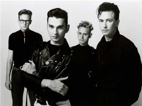 Depeche Mode c. 1987 (From Left): Andy Fletcher, Dave Gahan, Martin Gore, and Alan Wilder