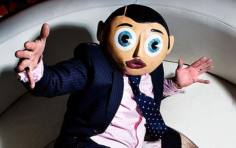 Chris Sievey as Frank Sidebottom - one of the major inspirations for Frank.